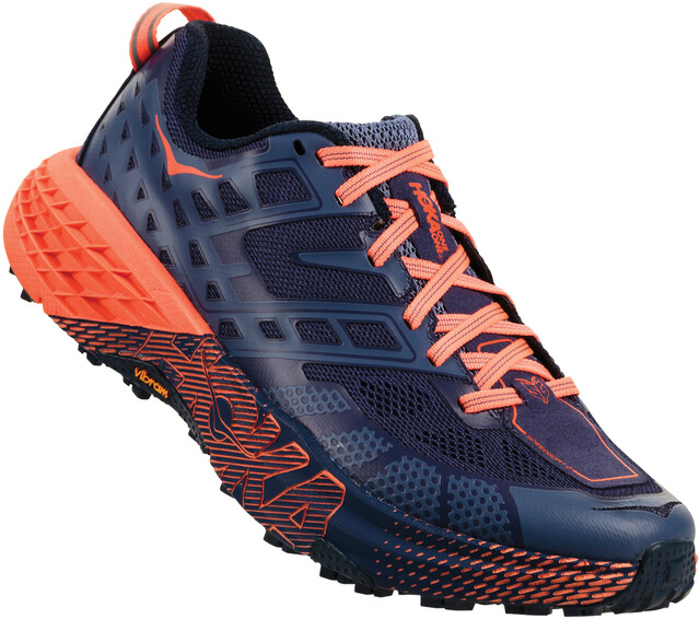 Hoka One One W's Speedgoat 2 Running Shoes marlin/blå ribbon